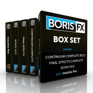 Boris Box Set für Avid, Adobe, Apple, OFX