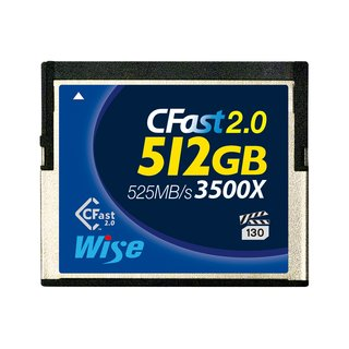 CFast 2.0 Card 3500X blue 512 GB