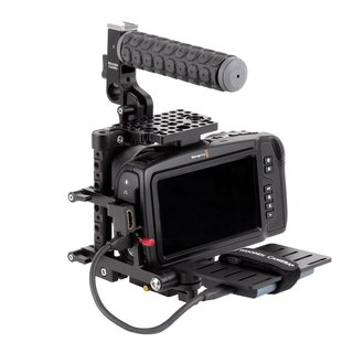 Unified BMPCC4K/6K Camera Cage SSD Mount